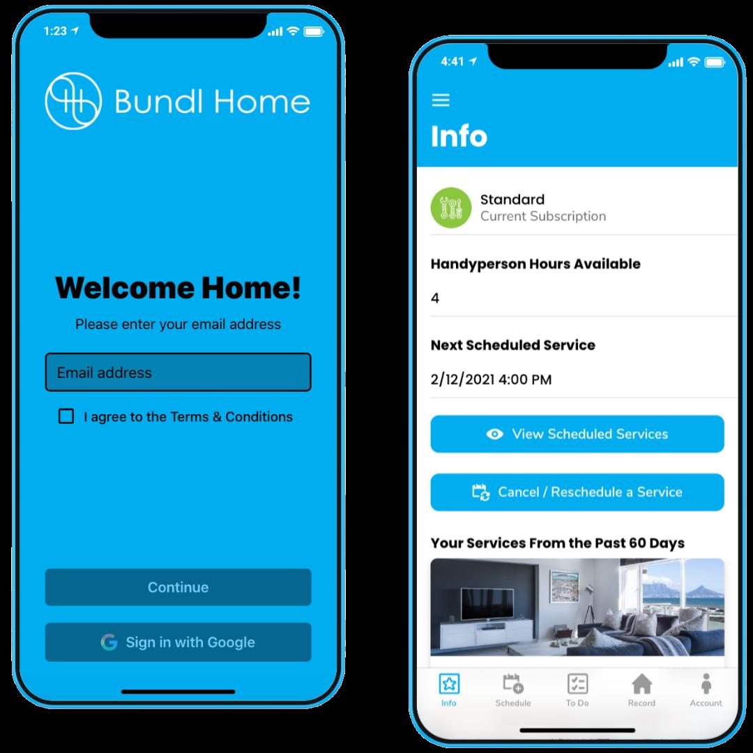 Bundl Home App