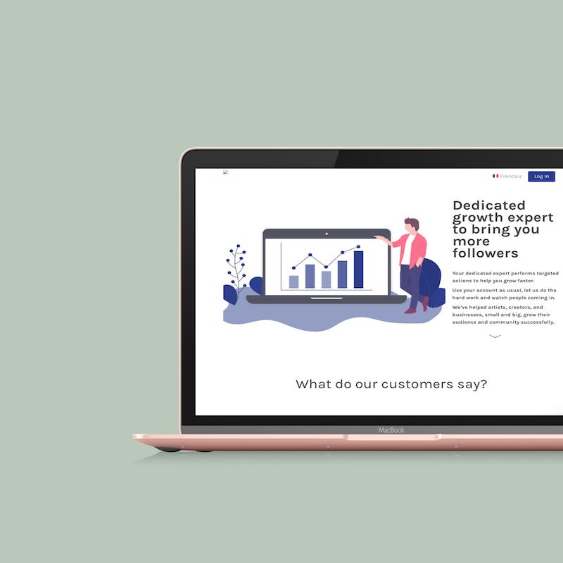 SocialOptim - Social Media growth-hacking and web-marketing productized service - Matthieu Baillargé - matthieub.com