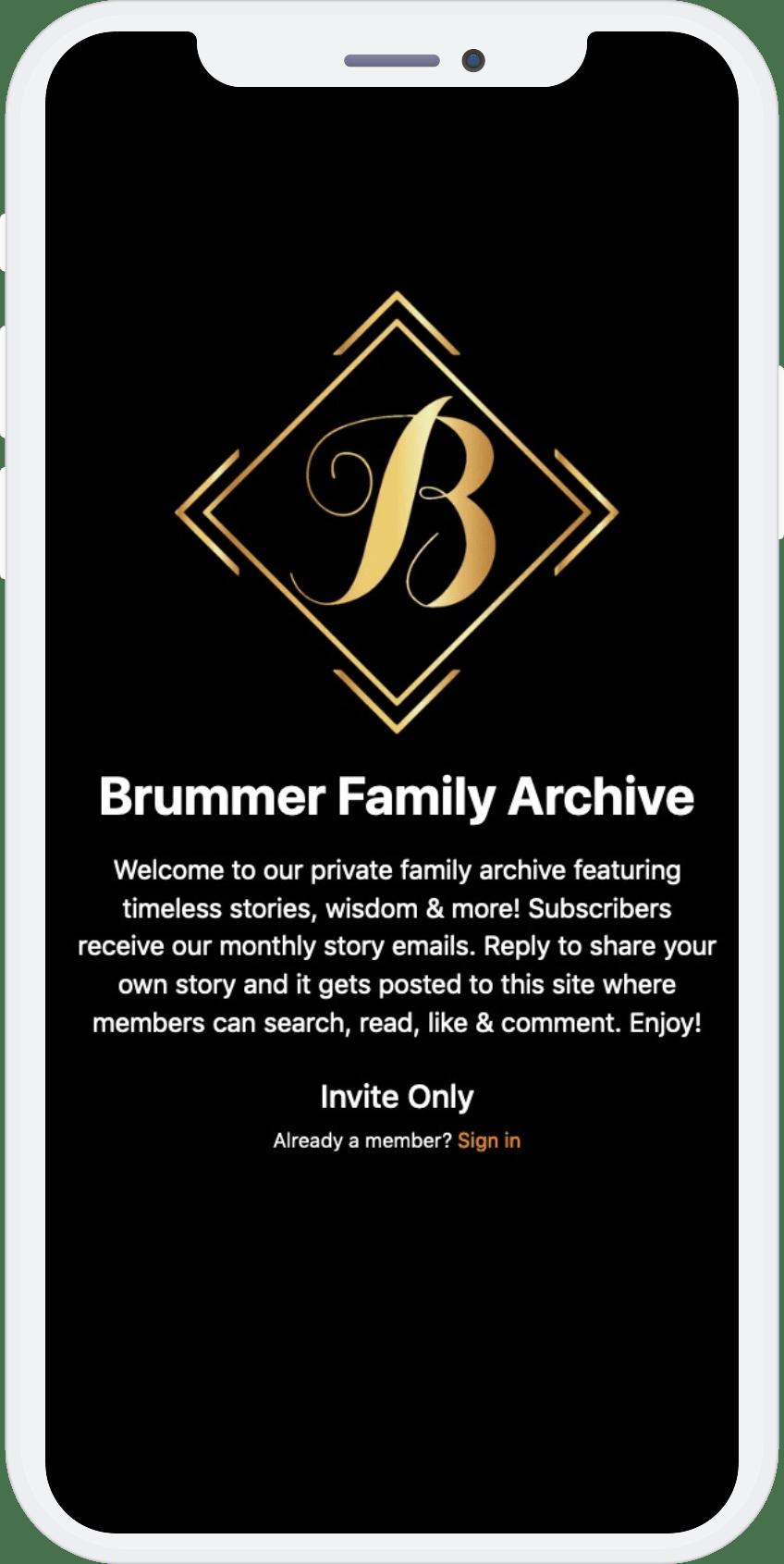 Preserve Family Stories Forever   FamilyWorth