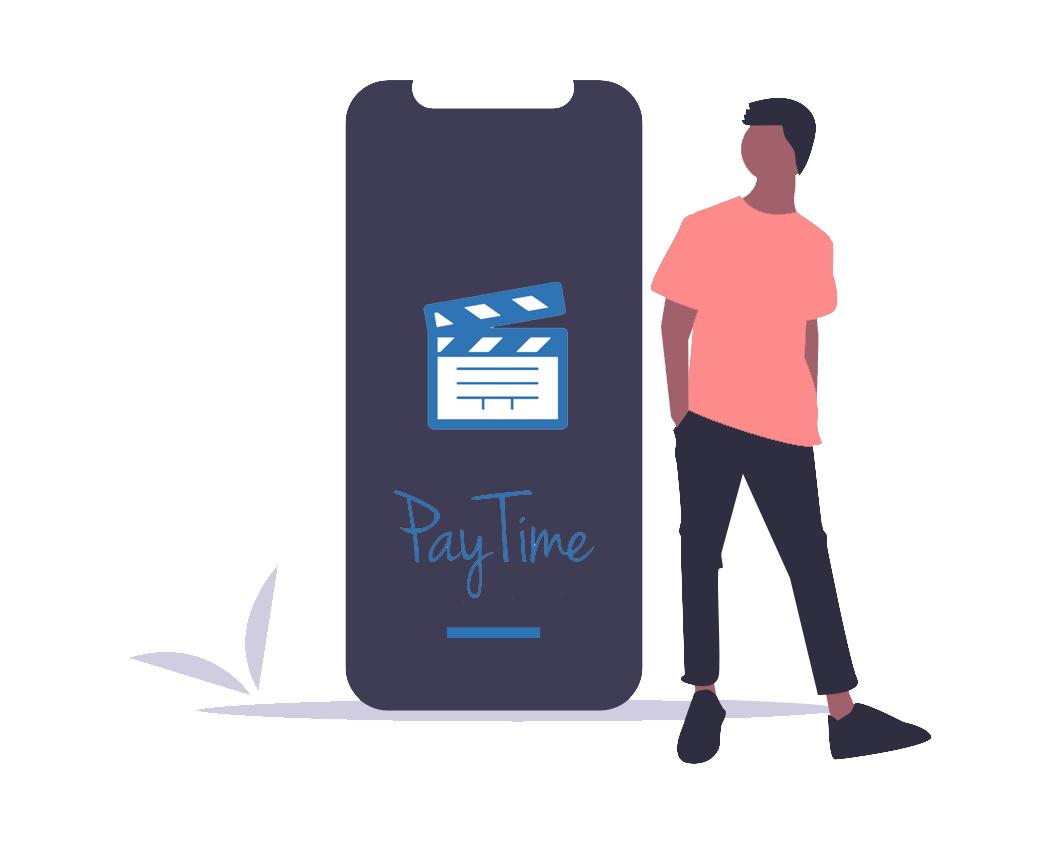 PayTime : application mobile pour envoi des heures des techniciens sur un tournage