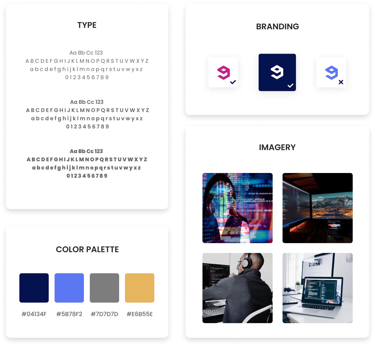 branding guide elements example