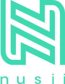 nusii logo in green