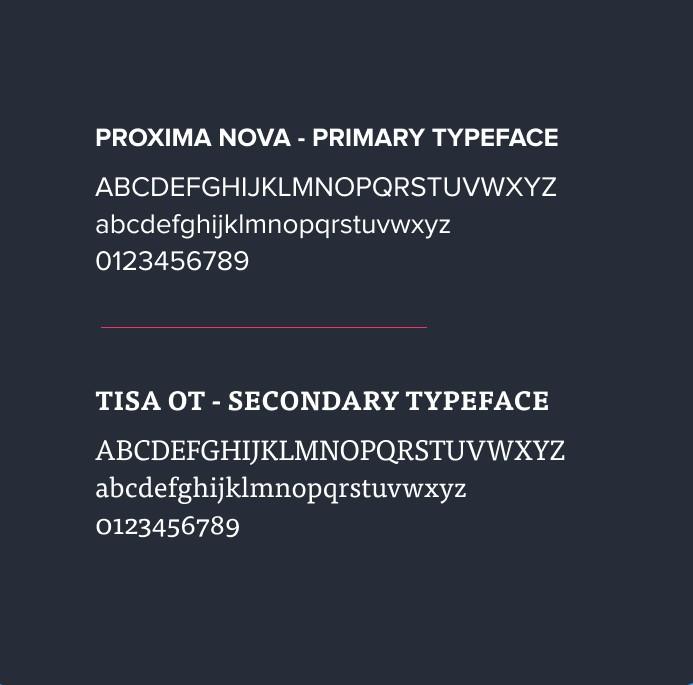 Nusii fonts